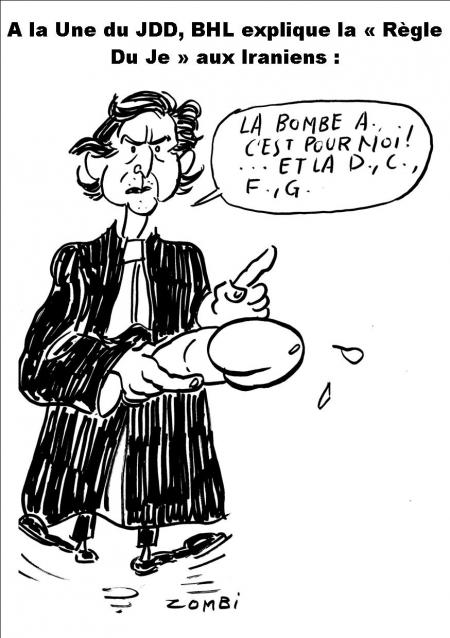 caricature,bhl
