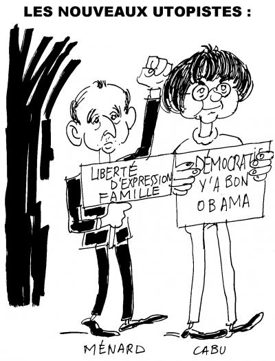 cabu,robert menard,caricature